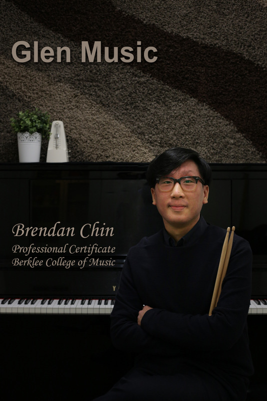 Glen Music Drums - Drums Teacher - Brendan Chin