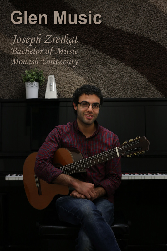 Glen Music - Guitar Teacher - Joseph Zreikat