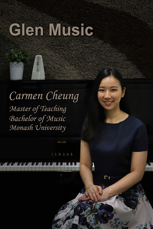 Glen Music - Piano Teacher - Carmen Cheung