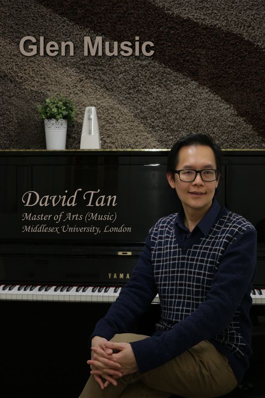 Glen Music - Piano Teacher - David Tan