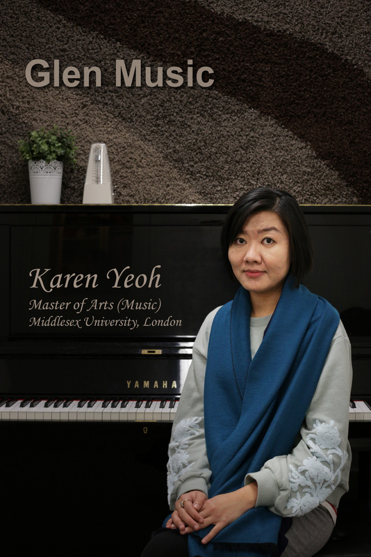 Glen Music - Piano Teacher - Karen Yeoh