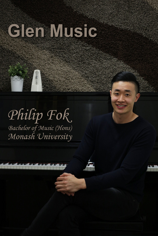 Glen Music - Piano Teacher - Philip Fok
