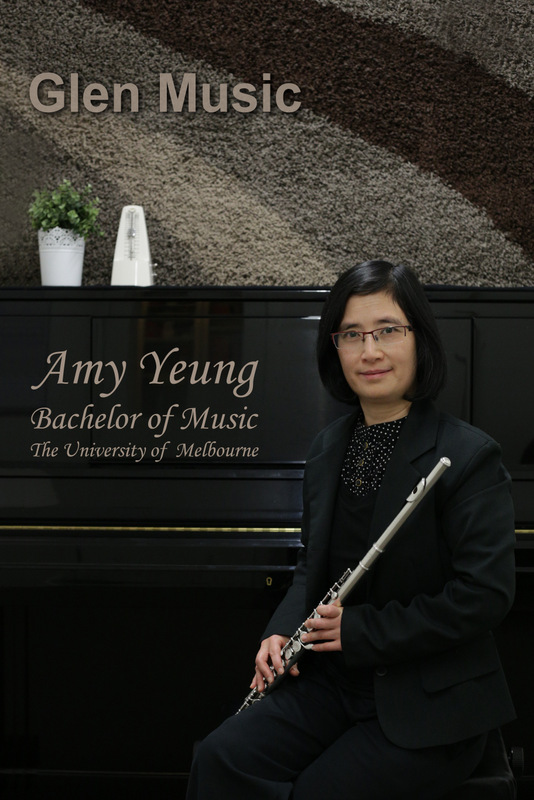 Glen Music - Piano & Flute Teacher - Amy Yeung