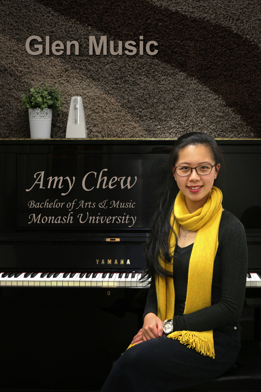 Glen Music - Piano & Violin Teacher - Amy Chew