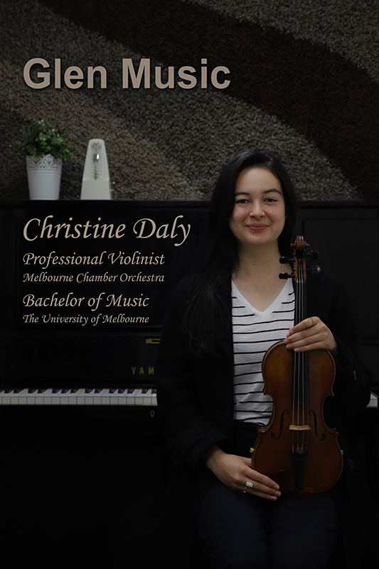 Glen Music - Violin Teacher - Christine Daly