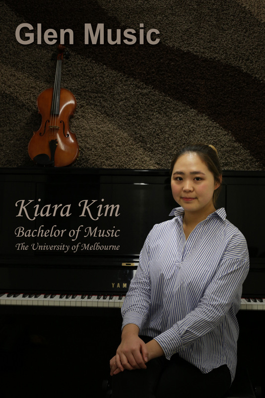 Glen Music - Violin & Viola Teacher - Kiara Kim