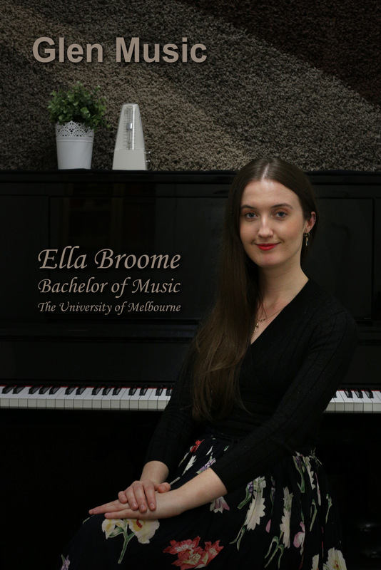 Glen Music - Voice & Piano Teacher - Ella Broome