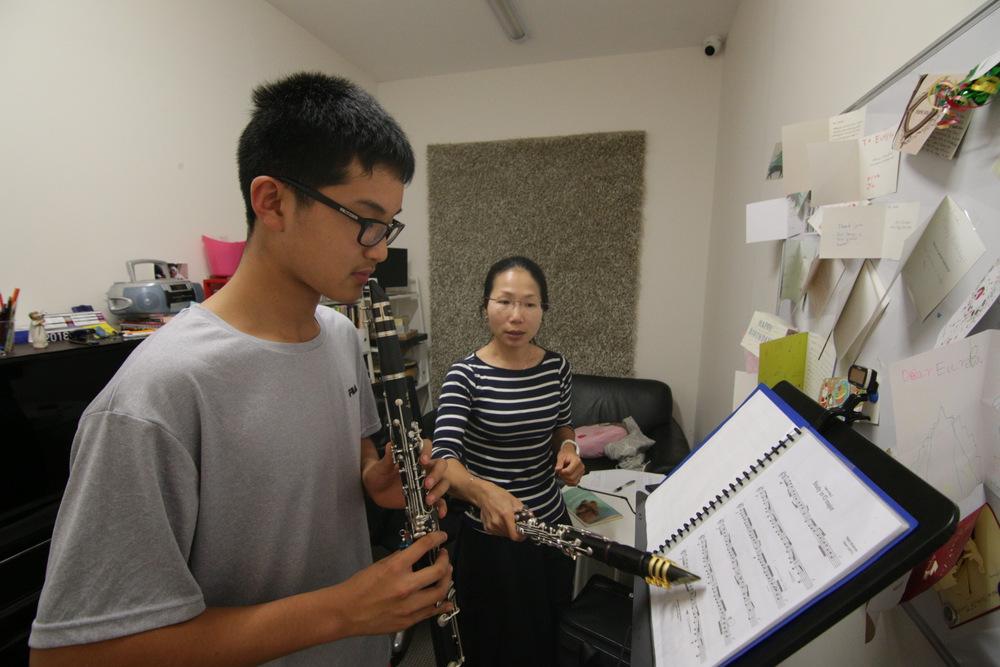Glen Music - Clarinet Class