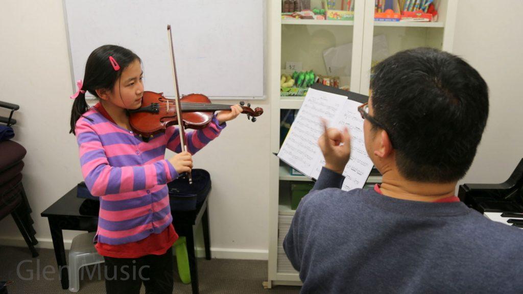 Glen Music - Violin Class