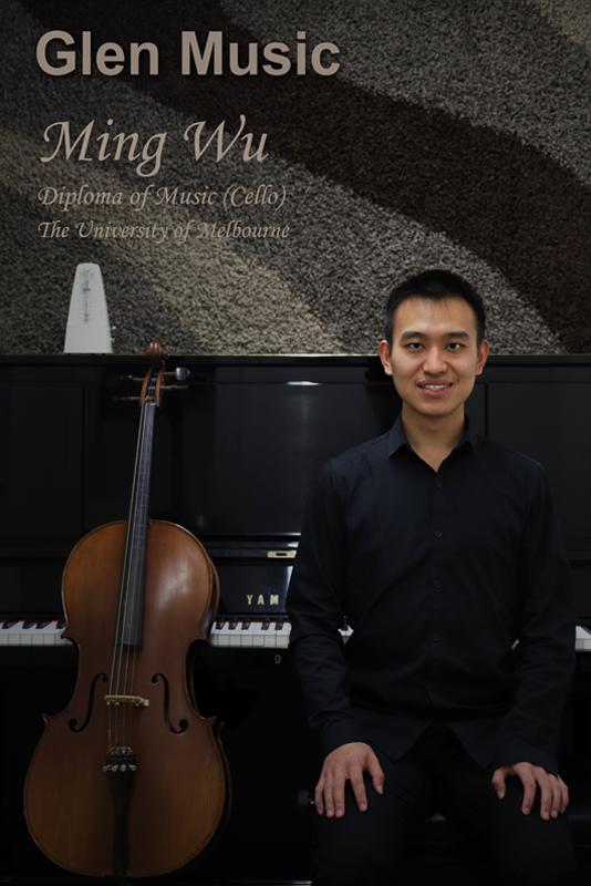 Glen Music - Cello Teacher - Ming Wu