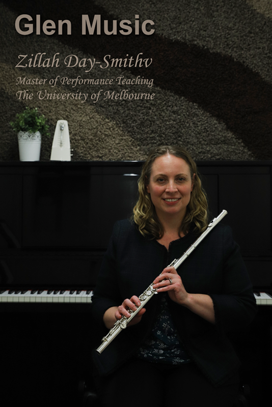 Glen Music - Flute Teacher - Zillah Day-Smith