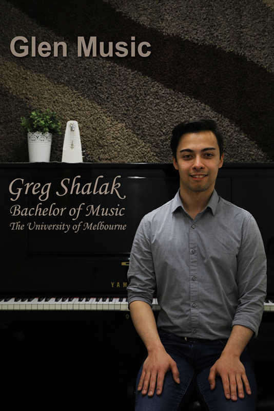 Glen Music - Piano Teacher - Greg Shalak